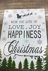 Decor Love Joy Happiness LED Sign