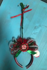 HeadBand Kiss Me LED Mistletoe Headband