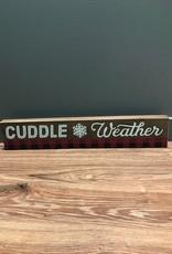 Decor Cuddle Weater Wall Art 24x4.5