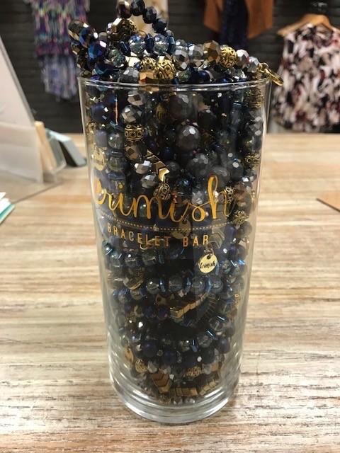 Jewelry Zinc Color Jar Bracelet