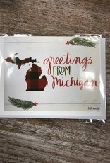 Card Greetings From Michigan Card