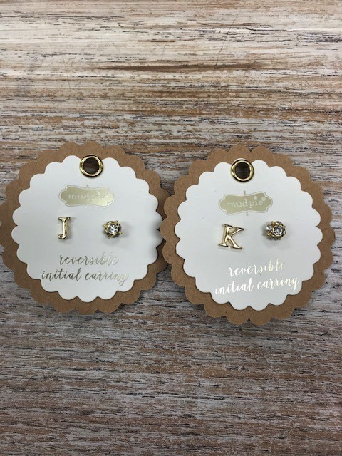 Jewelry Initial Earring