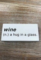 Decor Wine Noun Sign 6x3
