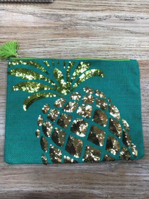 Bag Summer Jute Sequin Bag