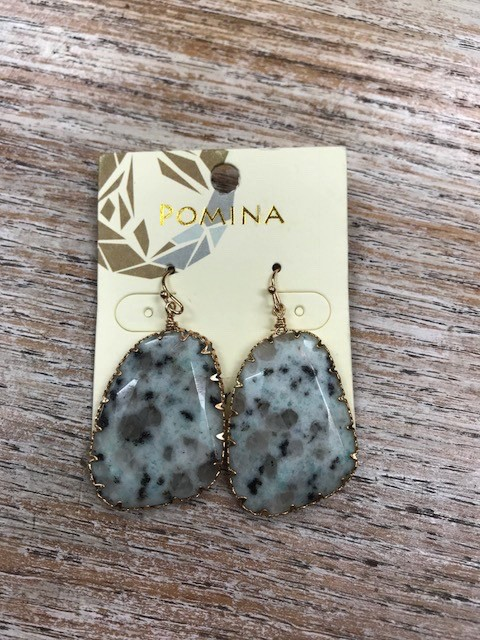 Jewelry Cat Eye Natural Stone Earrings