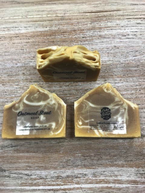 Beauty Lake Soap, Oatmeal Stout