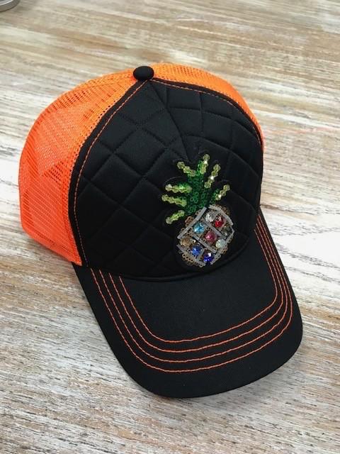 Hat Neon Pineapple Trucker Hat