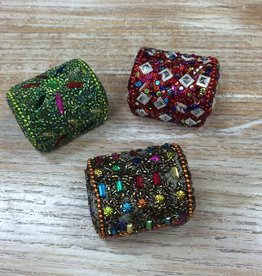 Accessory Sequin Domed Treasure Box