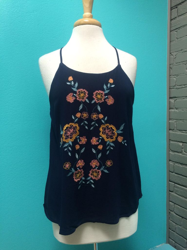 Top Embroidered Top