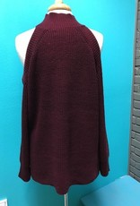 Sweater Madden Cold Shoulder Sweater