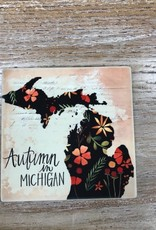 Kitchen Autumn In Michigan Coaster