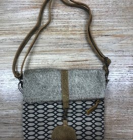 Bag Fold Over Small Cross Body Bag