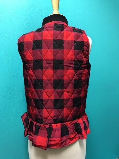 Vest Zip Puffy Vest