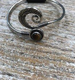 Jewelry Silver Feather Bracelet