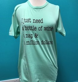 Shirt Wine, Nap, Dollars Shirt