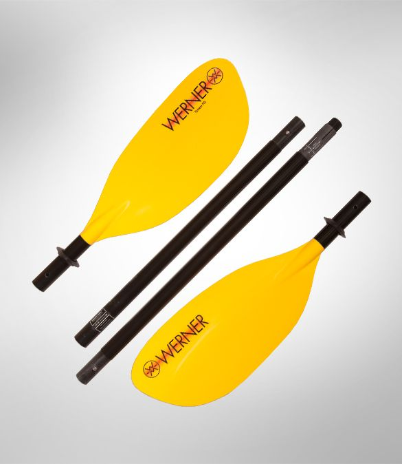 Werner Tybee FG 4-Piece Straight Paddle