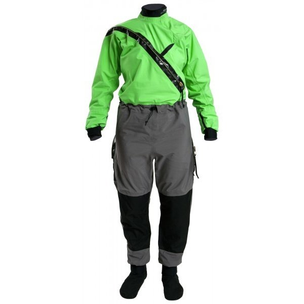 Kokatat G-Tex Front Entry Suit W/ Dropseat & Socks