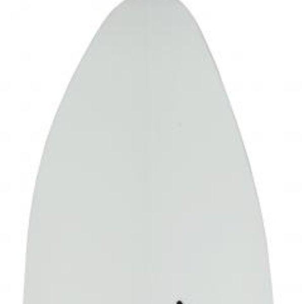 Aqua Bound MantaRay Hybrid White FG Blade/Posi-Lok Carbon Shaft 4pc