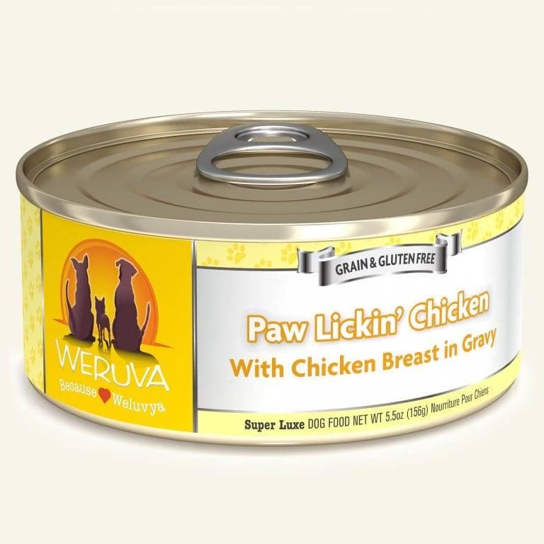 Weruva Weruva Dog Paw Lickin' Chicken, 5.5 oz can