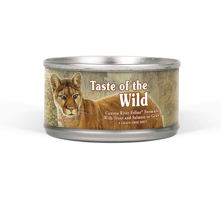 Taste of the Wild Taste of the Wild Canyon River Feline Formula, 5.5 oz can