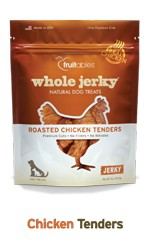 Fruitables Fruitables Whole Jerky Chicken Tender Strips Dog Treats, 5 oz bag