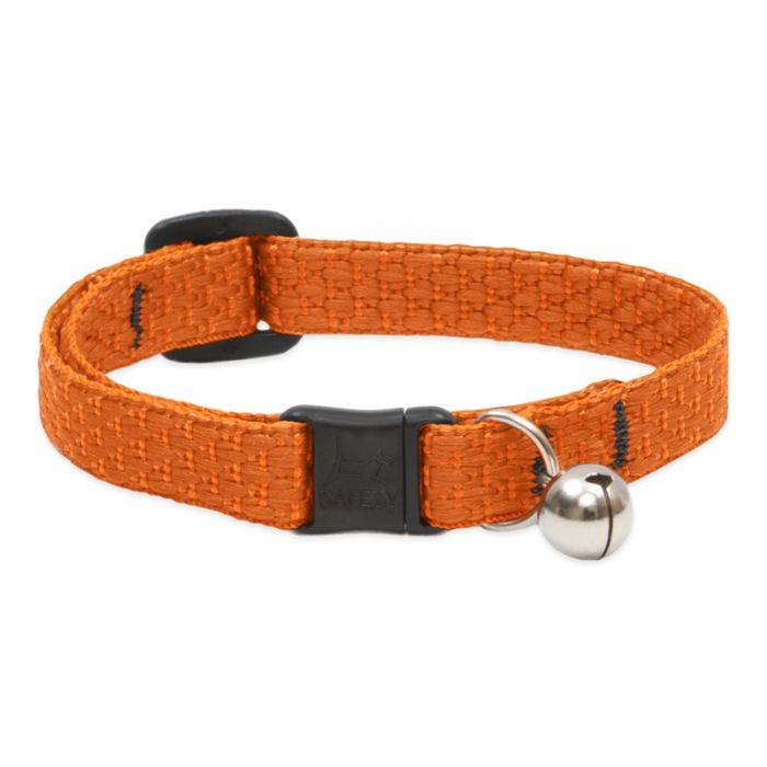 Lupine Lupine Eco - Pumpkin - Cat Collar With Bell 8-12""