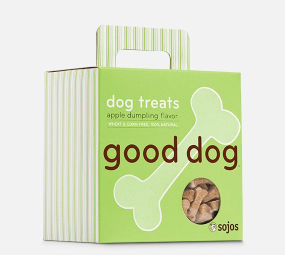 Sojos Sojos Good Dog Apple Dumpling Treat, 8 oz box