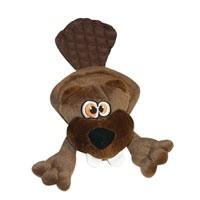 Hear Doggy Hear Doggy Flatties Brown Beaver