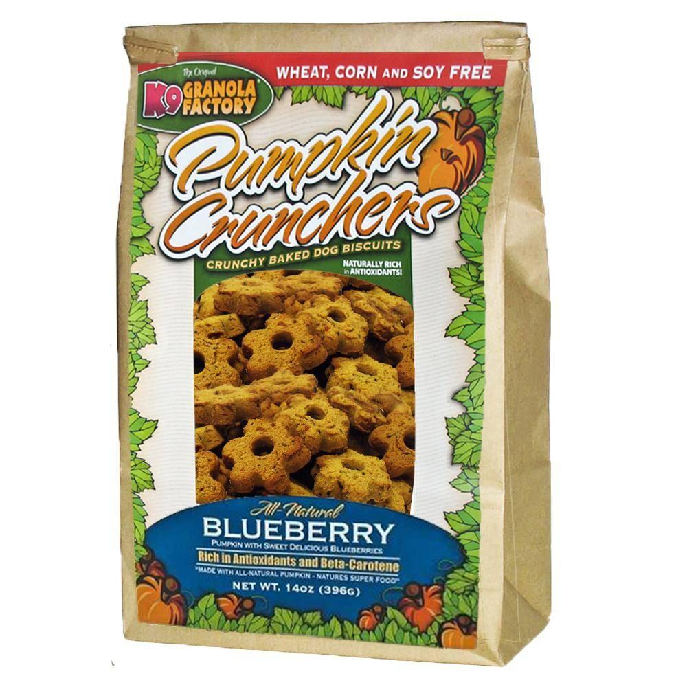 K9 Granola Factory K9 Granola Blueberry Pumpkin Cruncher, 14 oz bag