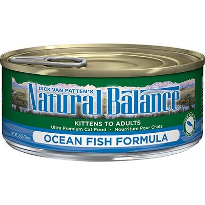 Natural Balance Natural Balance Ocean Fish Formula Cat Can Food, 5.5 oz can Product Image