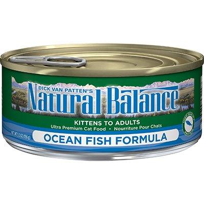 Natural Balance Natural Balance Ocean Fish Formula Cat Can Food, 5.5 oz can