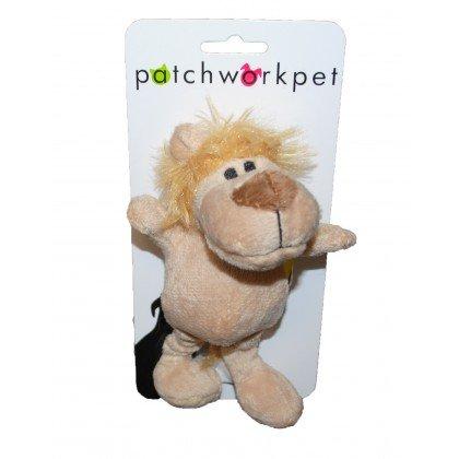 """Patchwork Pet Patchwork Pet Wild Lion, 6"""""""