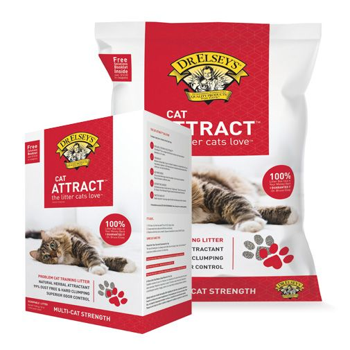 Precious Cat Dr. Elsey's Precious Cat Attract Cat Litter, 40#