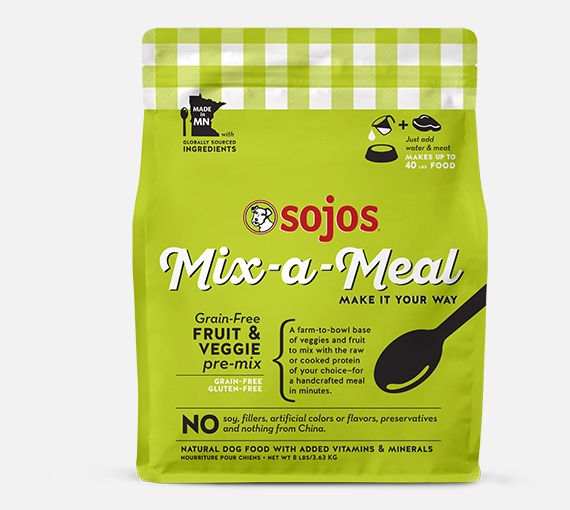 Sojos Sojos Grain Free Pre-Mix, 8 lb bag