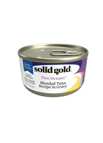 Solid Gold Solid Gold Blended Tuna Recipe in Gravy Cat Food, 6 oz can