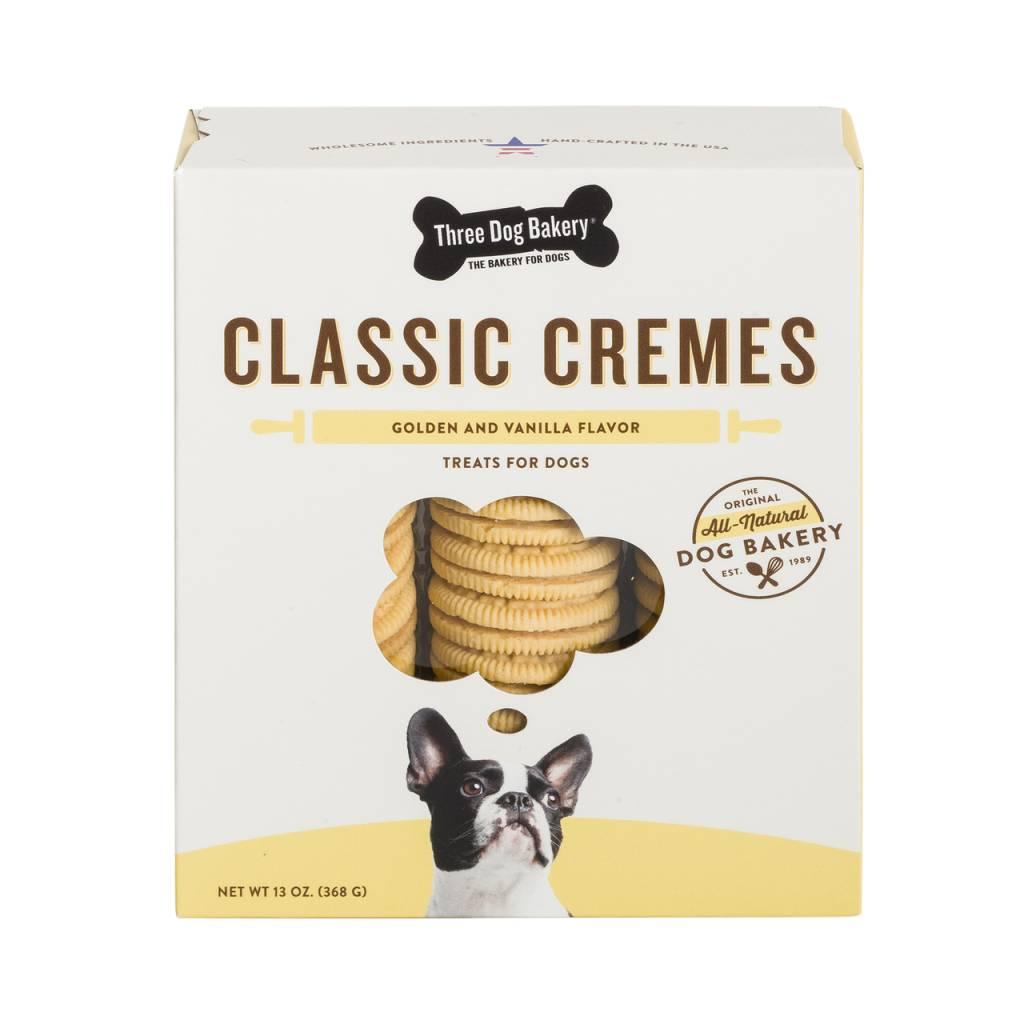 Three Dog Bakery Three Dog Bakery Classic Cremes Golden with Vanilla Filling, 13 oz box