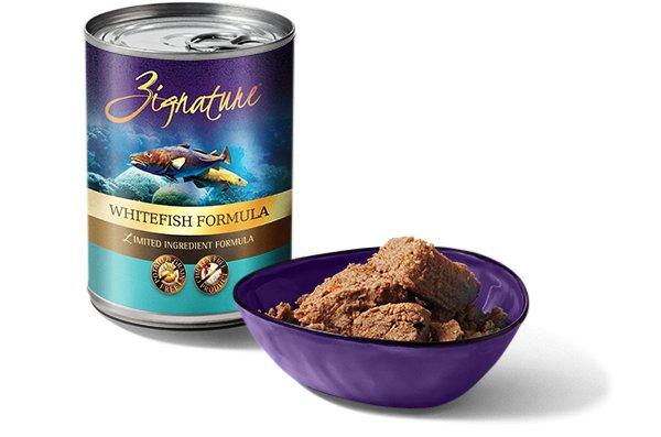 Zignature Zignature Whitefish Canned Dog Food, 13 oz can