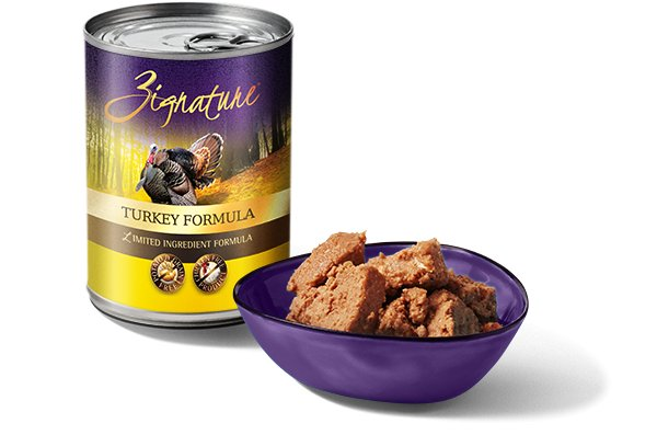 Zignature Zignature Turkey Canned Dog Food, 13 oz can