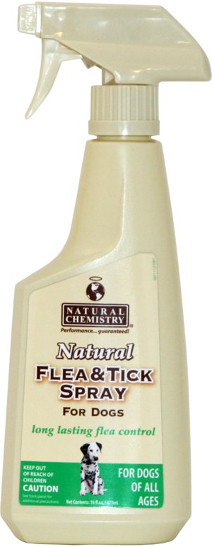 Natural Chemistry Natural Chemisty Flea & Tick Spray, 16.9 oz bottle