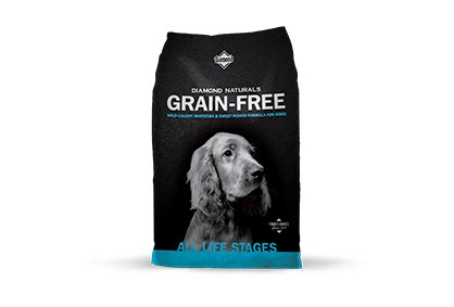 Diamond Diamond Naturals Grain Free Dry Dog Food, Whitefish & Sweet Potato 28 lb bag Product Image