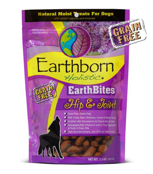 Earthborn Earthborn EarthBites Holistic Grain Free Hip & Joint Treats 7.5 oz