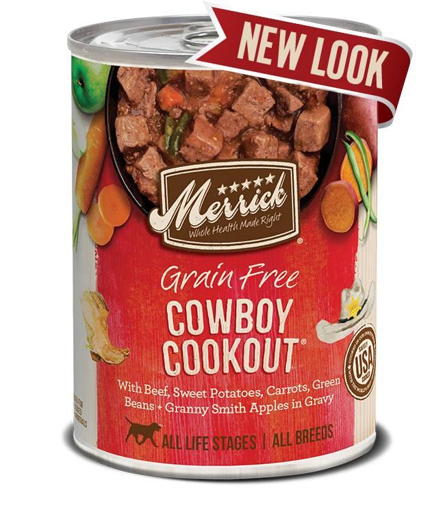 Merrick Merrick Cowboy Cookout Dog Food, 13.2 oz can