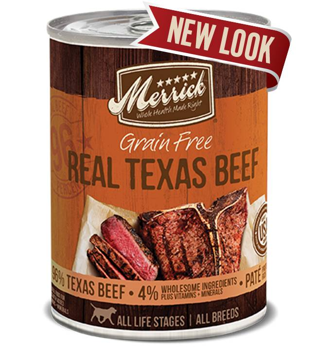 Merrick Merrick Texas Beef Dog Food, 13.2 oz can