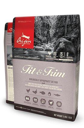 Orijen Orijen Dry Cat Food, Fit & Trim, 4 lb