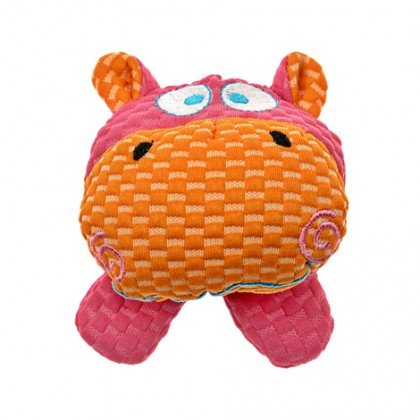 "Patchwork Pet Patchwork Pet TuffPuff Hippo Head, 6"" Product Image"