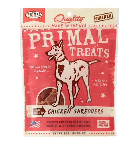 Primal Primal Dry Roasted Chicken Shredders, 4 oz bag