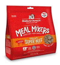 Stella & Chewy Stella & Chewy's Stella's Super Beef Meal Mixers Freeze-Dried Dog Food 9 oz bag