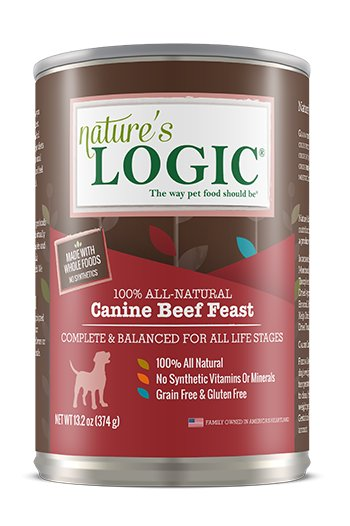 Nature's Logic Nature's Logic Beef Canned Dog Food, 13.2 oz
