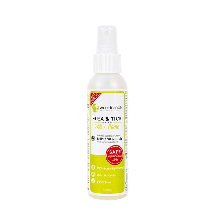 Wondercide Wondercide Evolv Flea & Tick Treatment Lemongrass, 4 oz bottle Product Image