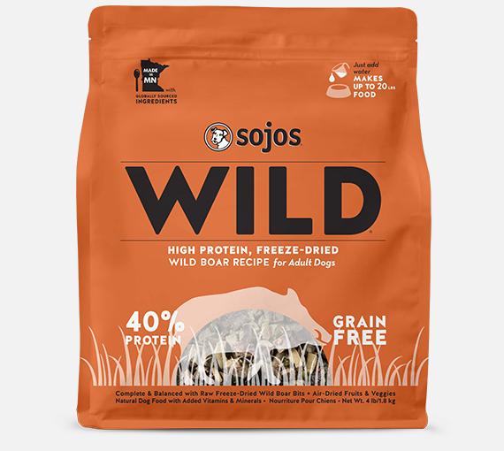 Sojos Sojos Grain Free Wild Boar, 4 lb bag Product Image